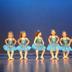 Blue Ballerinas