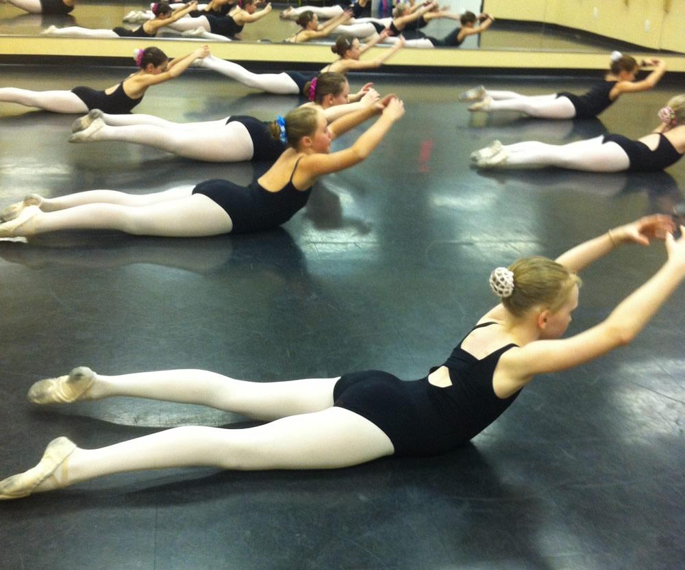 Ballet Class strength